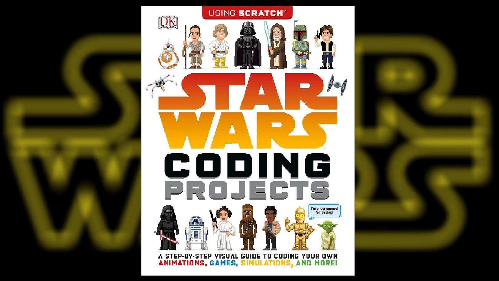 Recenzja - Star Wars: Coding Projects - Jon Woodcock | Świat