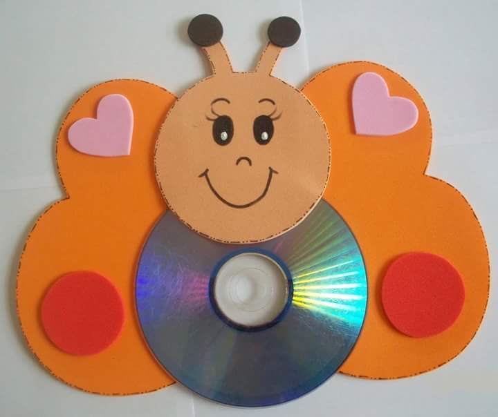Cd Craft Ideas For Kids Part - 24: Waste Cd Craft Ideas For Kids