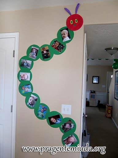 Classroom Door Decoration Ideas Spring ~ Centopeia feita com reciclagem de cd s pra gente miúda