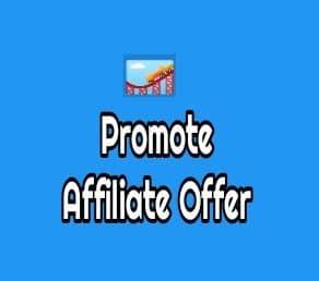 Promot-affiliate-offer