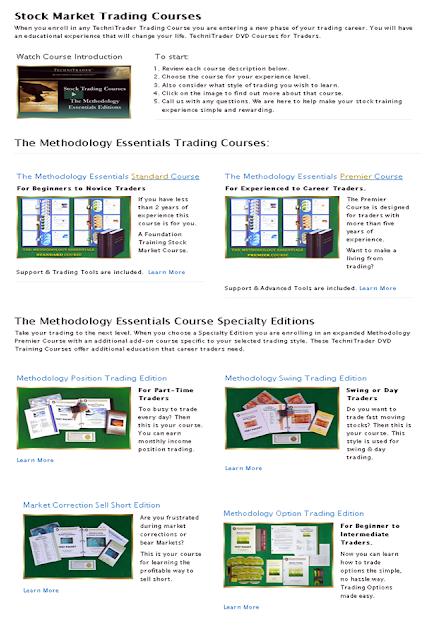 technitrader stock courses - technitrader