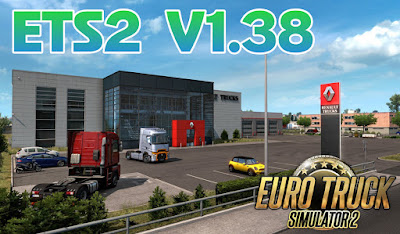 Euro Truck Simulator 2 V1.38 Full DLC - Download ETS2 Repack Free