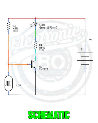 LDR Darkness Sensor