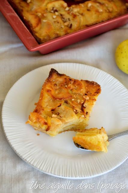Gâteau d'Eve (gâteau aux pommes)