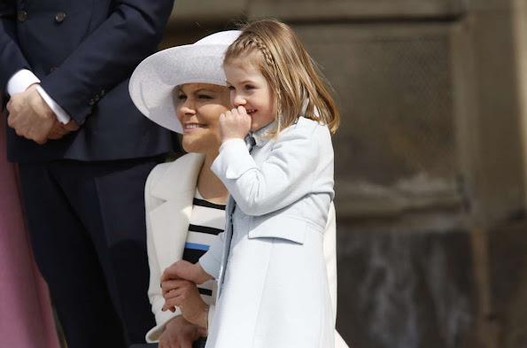 Princess Victoria, Prince Carl Philip and Princess Sofia