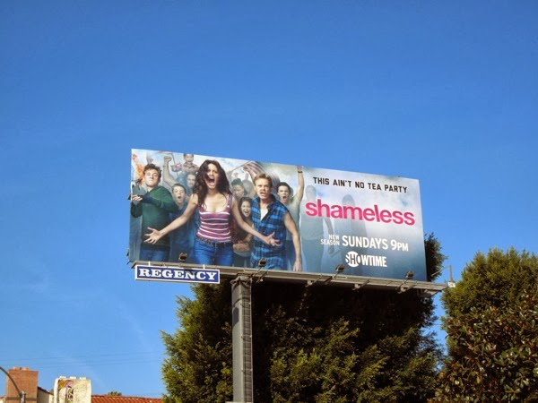 Shameless season 4 Showtime billboard