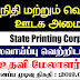 Vacancy In State Printing Corporation