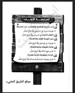 المراجعة النهائية للغه العربية للصف الثالث الثانوي نظام حديث استاذ رضا الفاروق 2021، مراجعه اللواء عربي ثانوية عامة بالاجابات