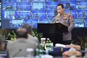 Rakernis Gabungan 4 Divisi, Kapolri: Lakukan Penguatan Transformasi Menuju Polri Presisi