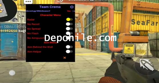 Critical Ops v1.25.0 Team Crema Menu Aim Hilesi Haziran 2021