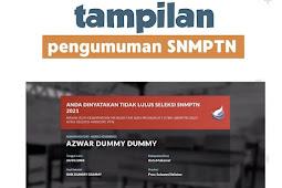 Tidak Lulus SNMPTN? Tenang, Ada 5 Jalur Lain Selain SNMPTN