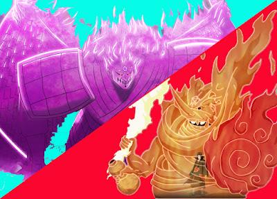 Susanoo Itachi vs Susanoo Sasuke
