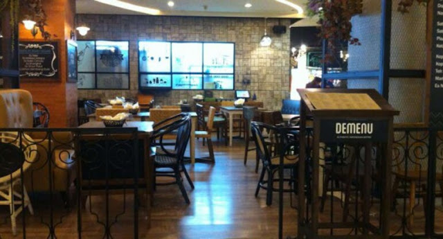De menu Grand Indonesia