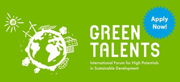 Green Talents Competition 2021 for Young Researchers in Sustainable Development