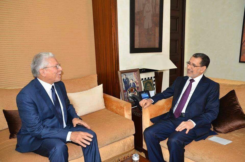 العثماني يلتقي الأمين العام لاتحاد المغرب العربي