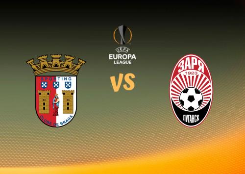 Sporting Braga vs Zorya Luhansk  Resumen