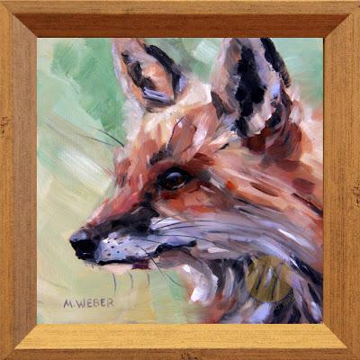 fox-oil-painting-merrill-weber
