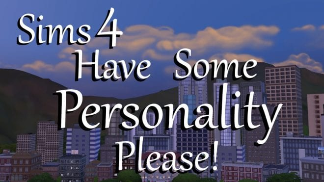 HAVE SOME PERSONALITY PLEASE!