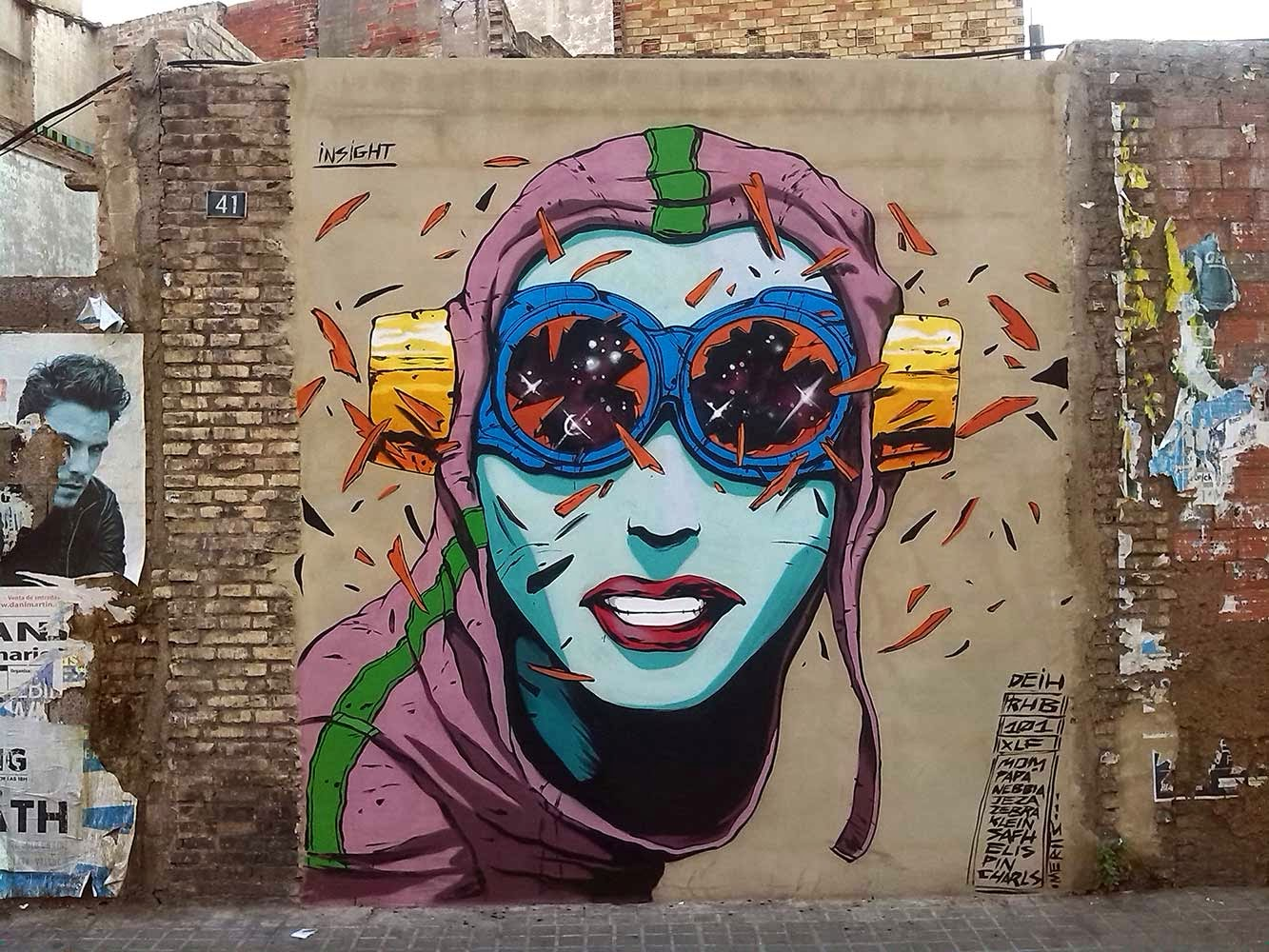 Our friend Deih XLF just finished working on this illegal piece somewhere on the streets of his hometown, Valencia in Spain.