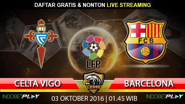 Prediksi Celta Vigo vs Barcelona 03 Oktober 2016 (Liga Spanyol)
