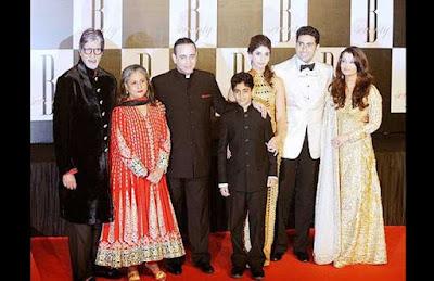 Nikhil Nanda dan Shweta Bachchan
