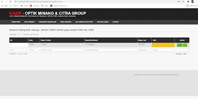 Aplikasi Penjualan Optik Berbasis Web dengan PHP dan MySQL Gratis