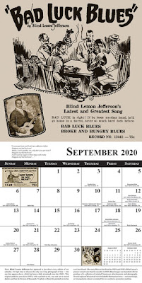 Blues Images 2020 Calendar