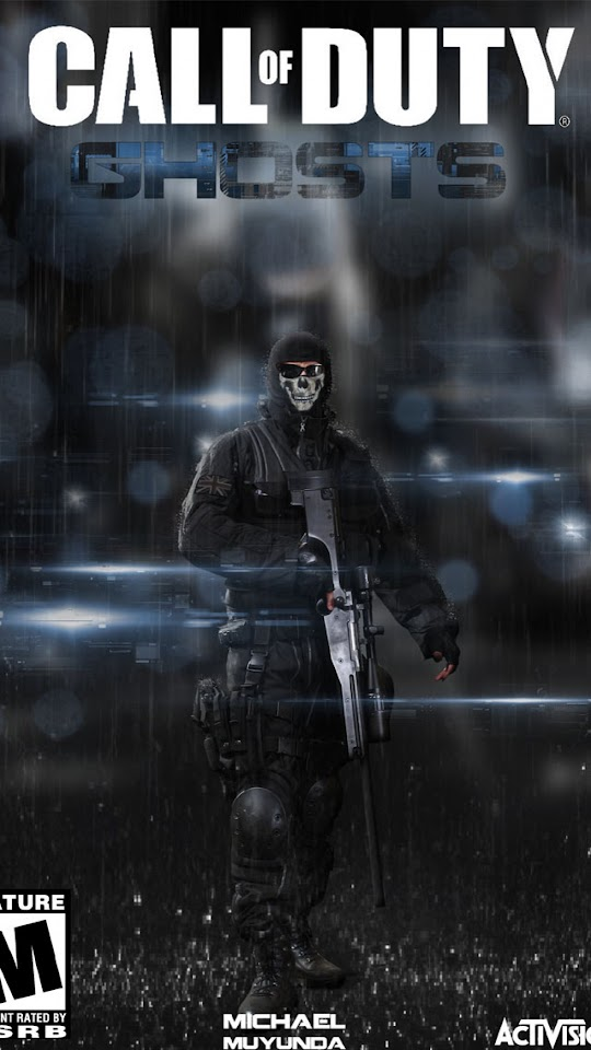 Call of Duty Ghosts 2013   Galaxy Note HD Wallpaper