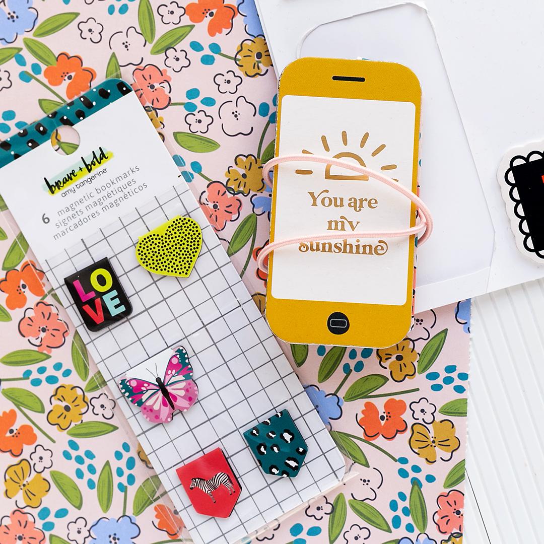 American Crafts Tiny Mini Smartphone Album