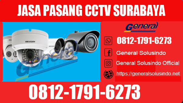 Jasa Pasang CCTV Sawahan Surabaya