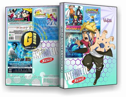 DVD coleção desenho de ação VOL 22 - ISO