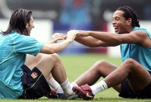 'Football will never forget your smile' - Messi tells Ronaldinho after the Brazil legend announced his retirement
