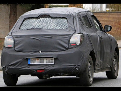 2017 Maruti Suzuki Swift spy shot back view