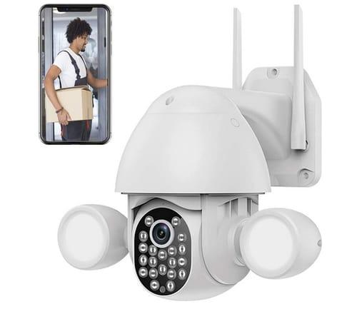 ASPIRING L808 WiFi Floodlight Outdoor Security Camera