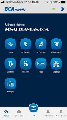 menu BCA Mobile