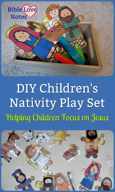 Children's Play Nativity - a way to engage your children with the story of Christ's birth.
