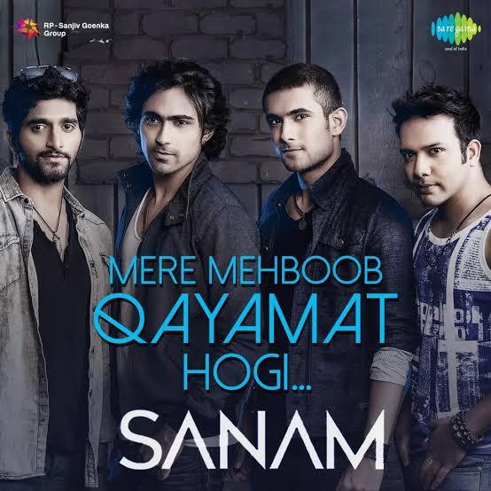 Mere Mehboob Qayamat Hogi Hindi Love Song Lyrics, Sung By Sanam.