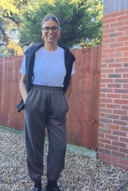 Lizzie dark grey joggers