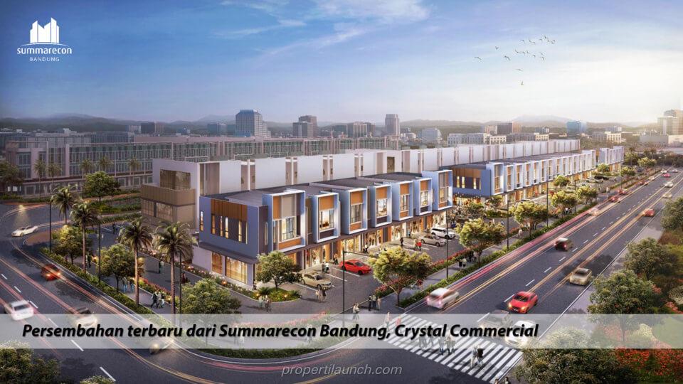 Rukos Crystal Commercial Summarecon Bandung