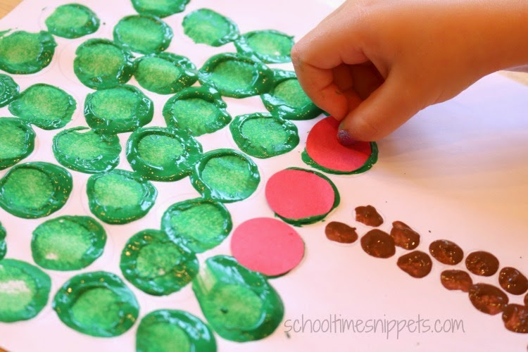 apple tree craft for kids
