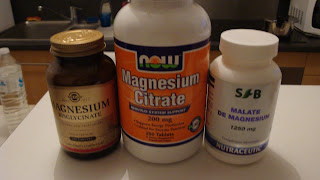 magnésium bysglycinate, citrate, malate, magnésium marin