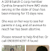 OMG: See Nigerian reactions to Osun Corp member that is missing