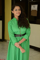 Geethanjali in Green Dress at Mixture Potlam Movie Pressmeet March 2017 041.JPG