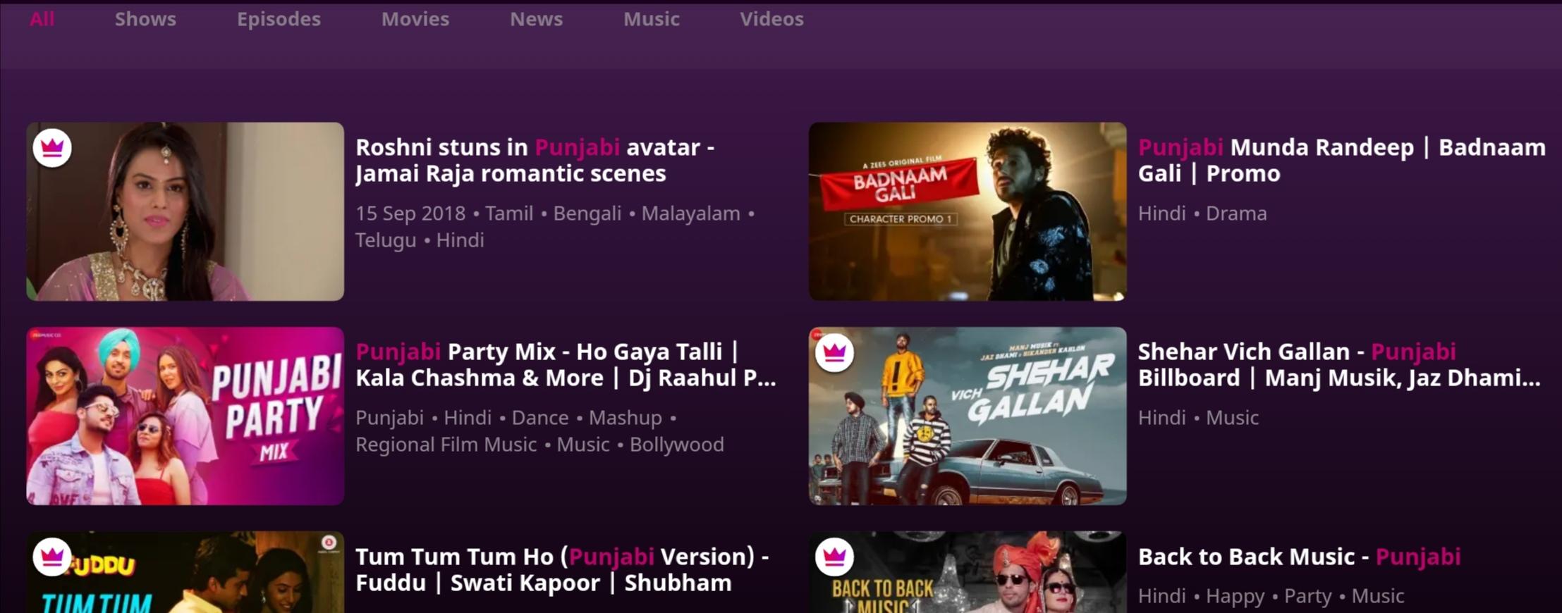 Watch Punjabi movies online free HD