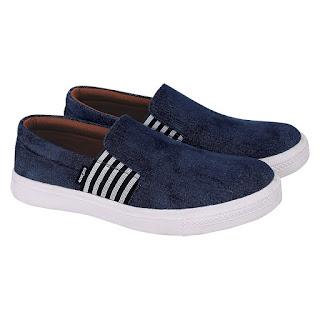 Sepatu Casual Slip On Pria Catenzo GN 027