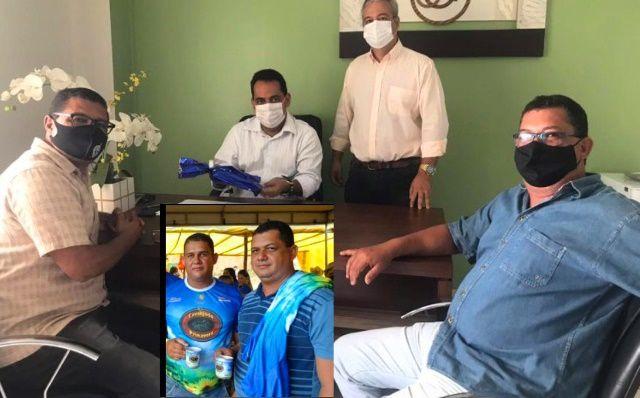Encontro Léo Matos e Valquirio Lima na Câmara
