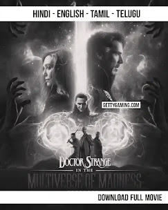 Doctor Strange in the multiverse of madness 2022 now is available in Filmyzilla