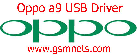 Oppo a9 USB Driver Download