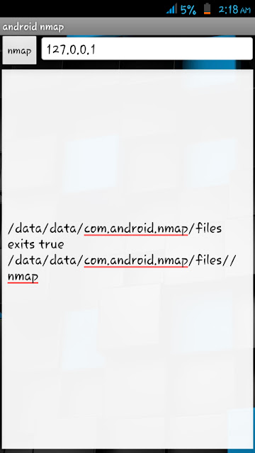 Android Nmap