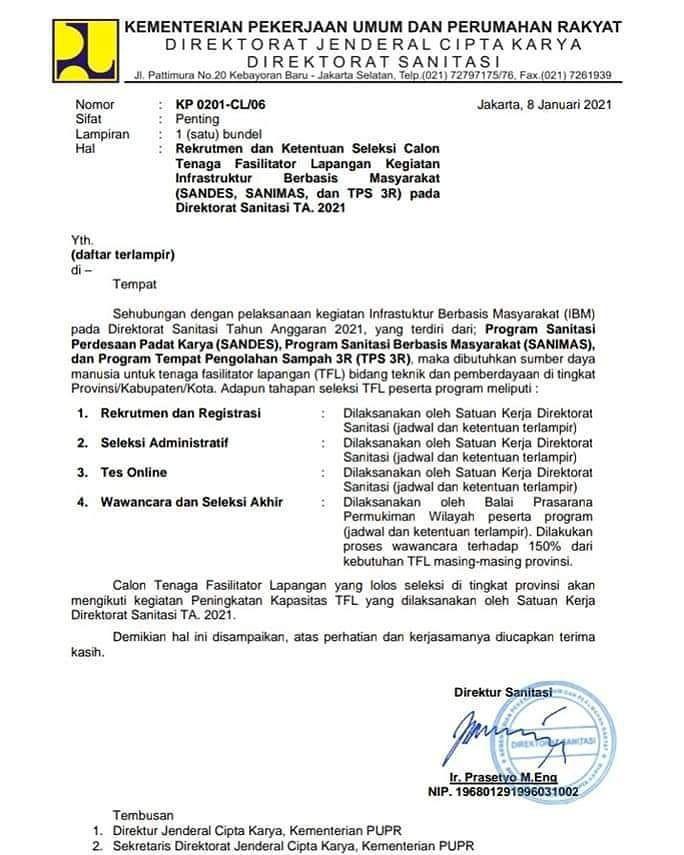 Lowongan Kerja Kementerian Pekerjaan Umum Dan Perumahan Rakyat Ri Medan Januari 2021 Lowongan Kerja Medan Terbaru Tahun 2021